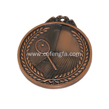 personalized metal medals for badminton